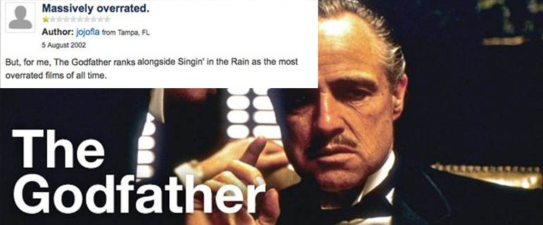 the godfather overrated