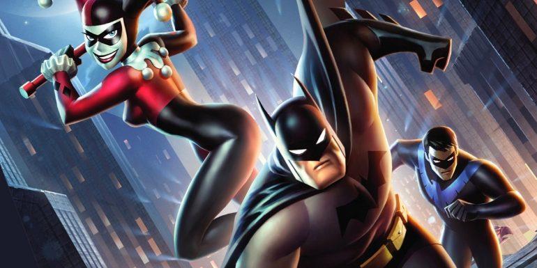 Batman and Harley Quinn Kevin Conroy
