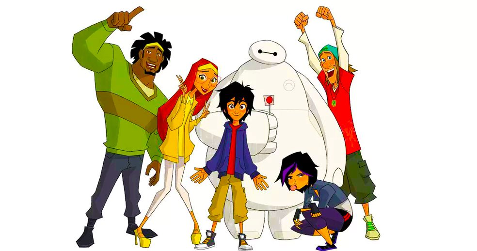 Big Hero 6 Is Getting An Animated Series. Watch The Title Sequence