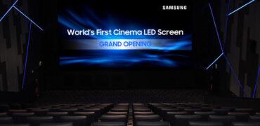 Samsung's Super S - The 33-Foot Cinema Screen