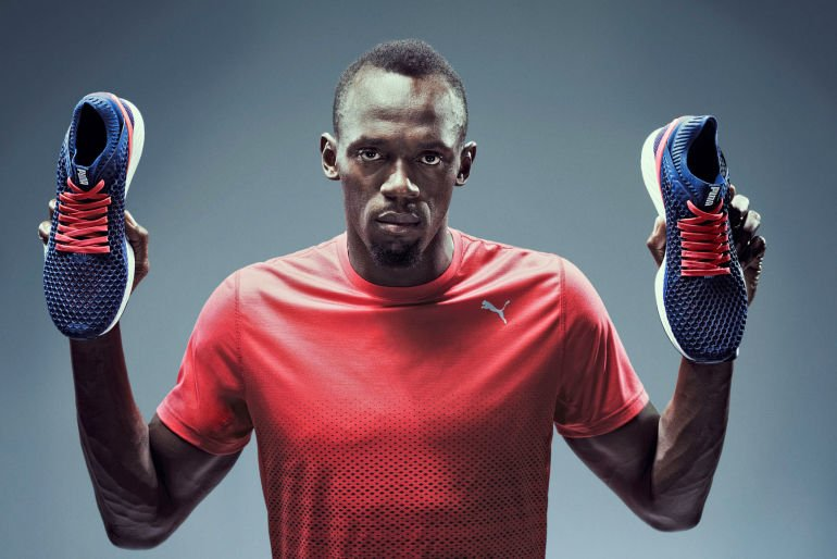 Puma Announces The Release Of The Ignite Netfit With Usian Bolt