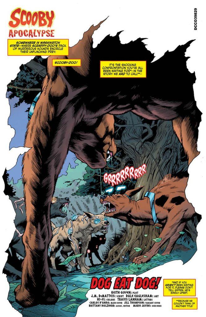 Scooby Apocalypse #15 Review