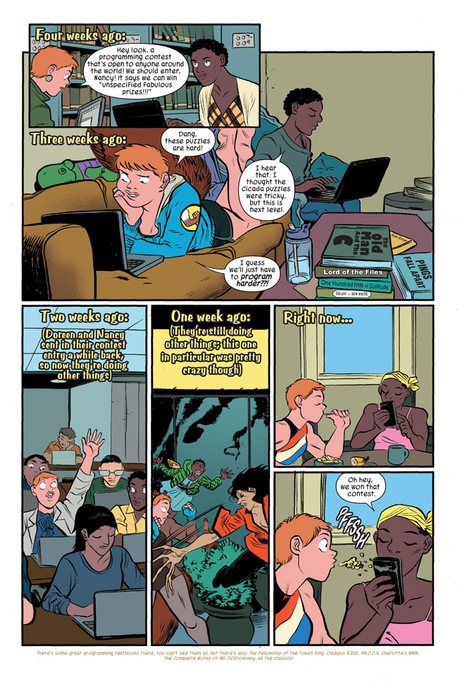 The Unbeatable Squirrel Girl v2 #22