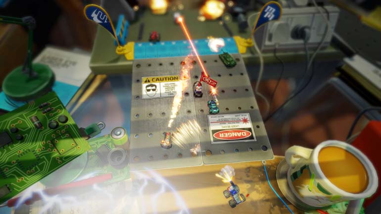 Micro Machines World Series Review - A Race Down Memory Lane