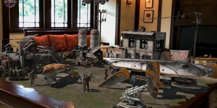Peter Jackson Reveals Mind-Blowing Augmented Reality Demo
