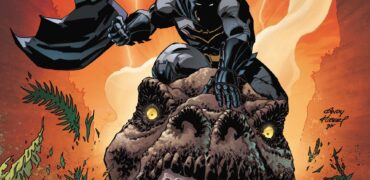 Dark Nights: Metal #1 Review - Batman Rides A Dinosaur
