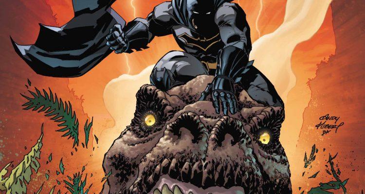 Dark Nights: Metal #1 Review - Batman Rides A Dinosaur
