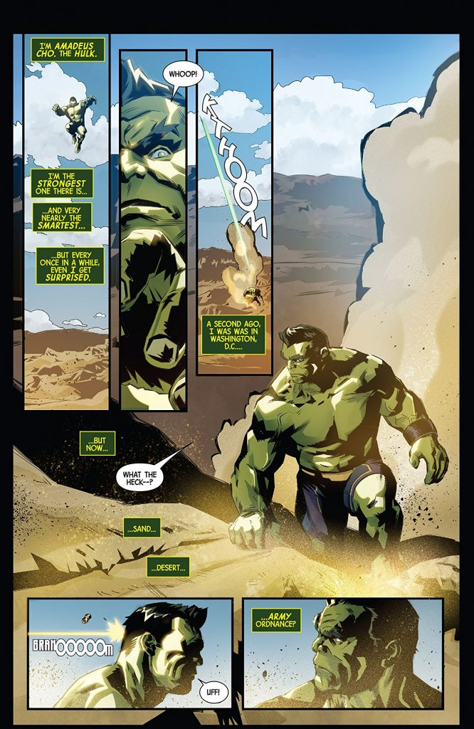 Generations Banner Hulk & The Totally Awesome Hulk #1 Review