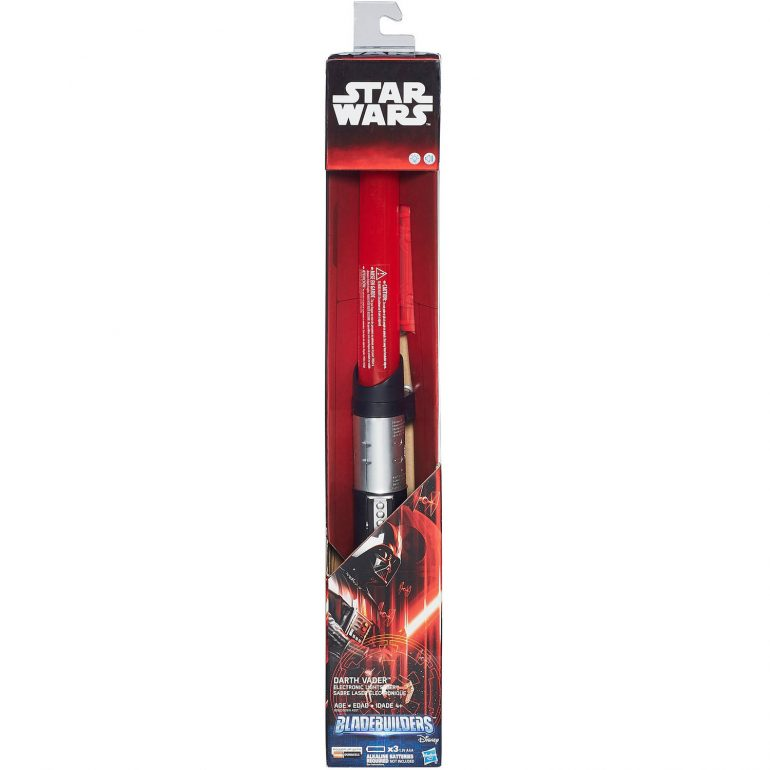 Hasbro Bladebuilders Darth Vader Electronic Lightsaber Review -
