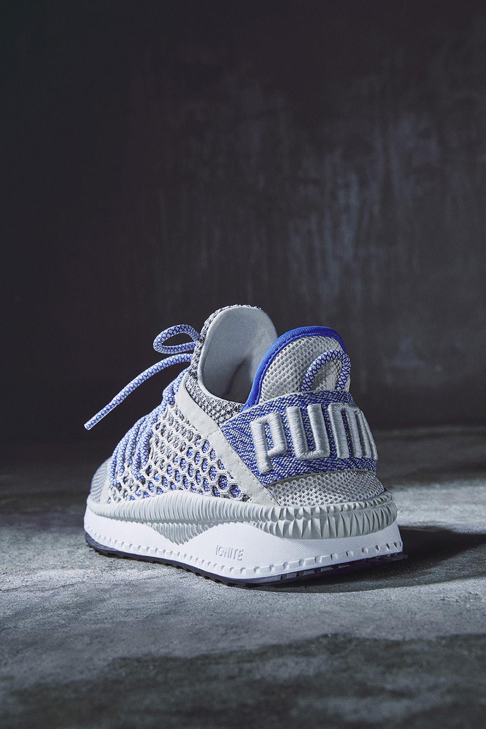 puma ignite netfit on feet
