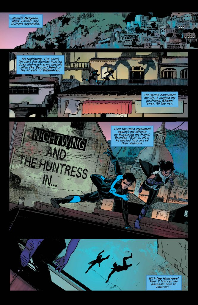 Nightwing #27 Review – The Name's Dick. Dick Grayson