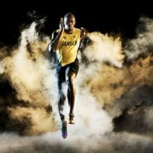 Puma Presents Usain Bolt's Legacy Spikes Ahead of His Last Race