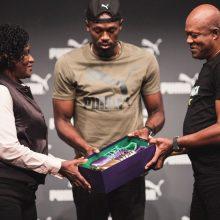 Puma Presents Usain Bolt's Legacy Spikes Ahead of His Last Race