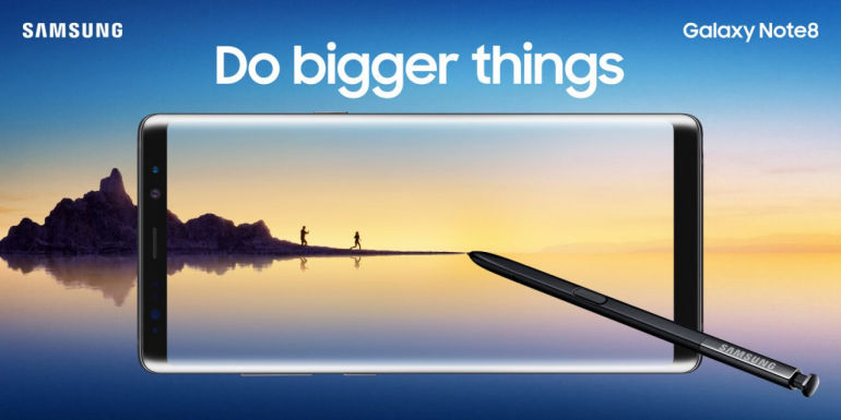 Samsung Officially Unveils The Galaxy Note 8 - Do Bigger Things
