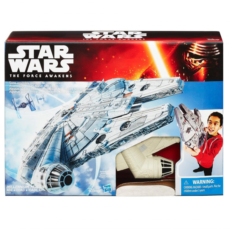 Star Wars The Force Awakens Value Millennium Falcon