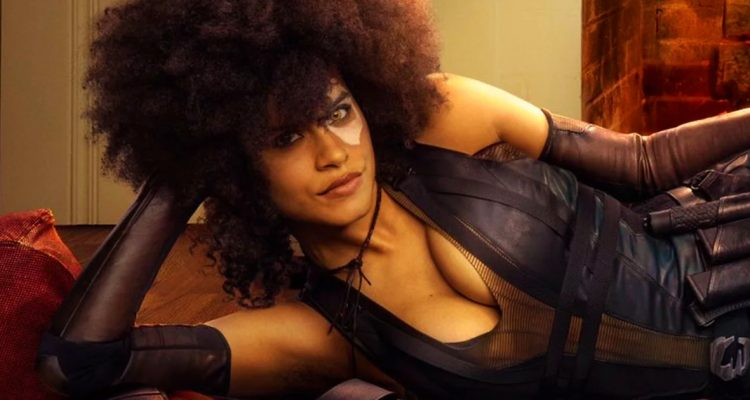 WE HAVE OUR FIRST LOOK AT ZAZIE BEETZ AS DOMINO IN DEADPOOL 2