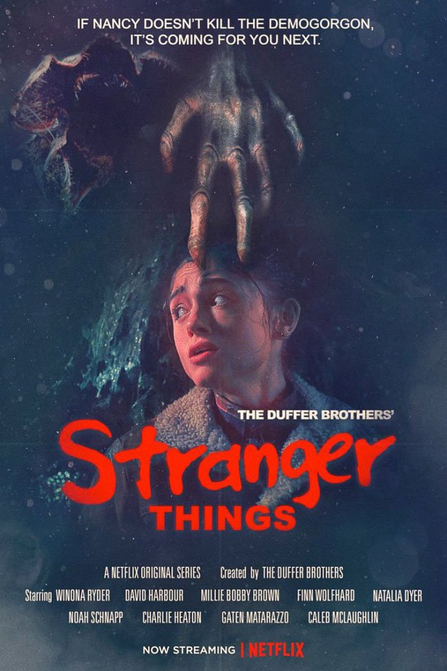New Stranger Things Season 2 Posters Pay Homage To Classic Horror Films