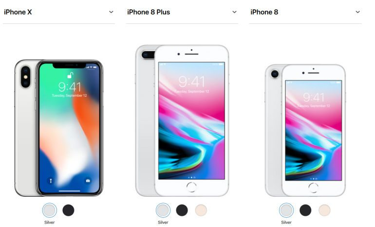 Apple Launches The iPhone X