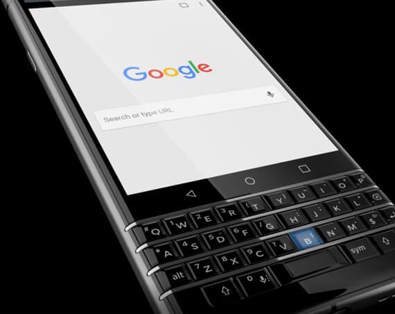 BlackBerry KEYone Review mobile