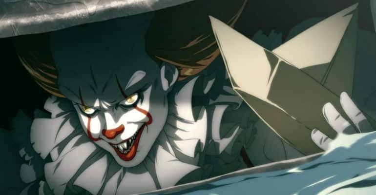 IT Movie Gets A Terrifying Anime Makover From Fan