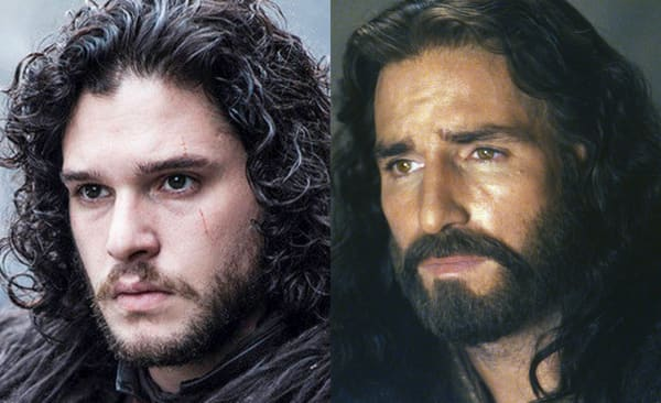 Jon Snow And Jesus
