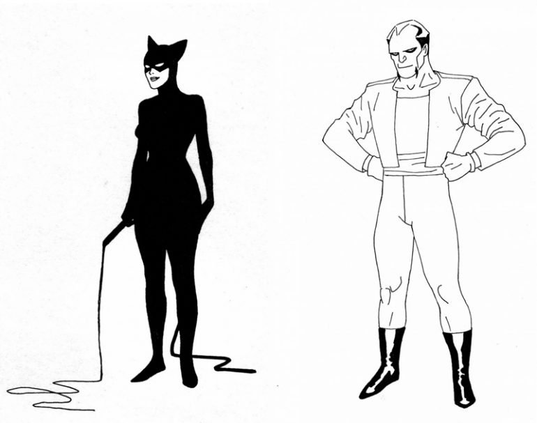 Kevin Nowlan Batman The Animated Series Concept Art 02