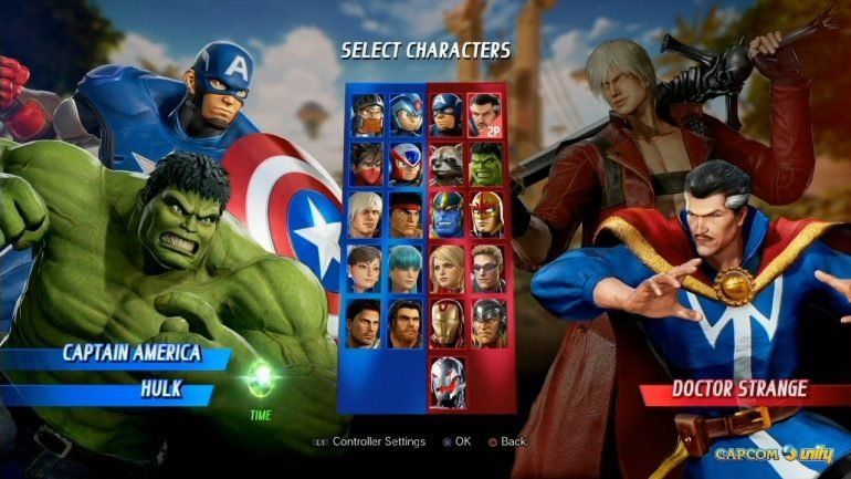 Marvel vs Capcom - Infinite