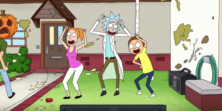 Morty isnt Rick's First