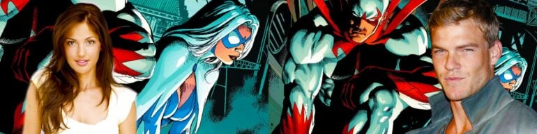 Titans Series Casts Alan Ritchson As Hawk And Minka Kelly As Dove