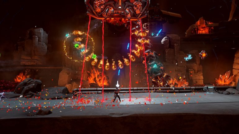 matterfall game - review