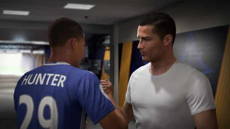 Alex Hunter Ronaldo FIFA 18