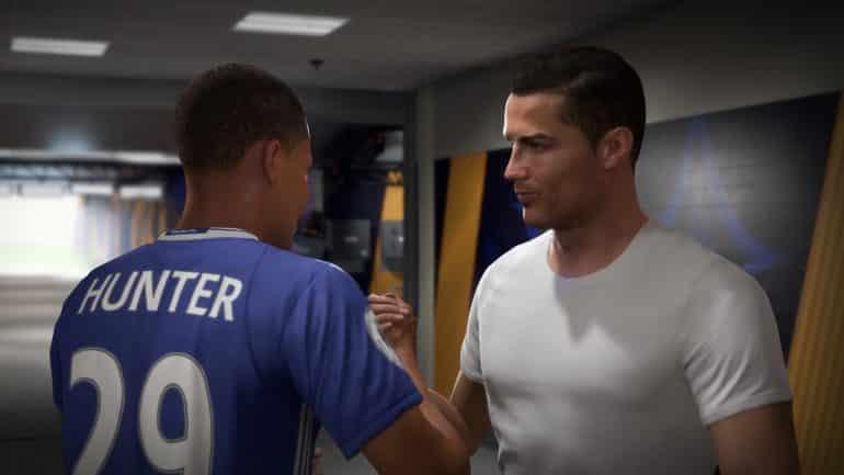 Alex Hunter Ronaldo FIFA 18