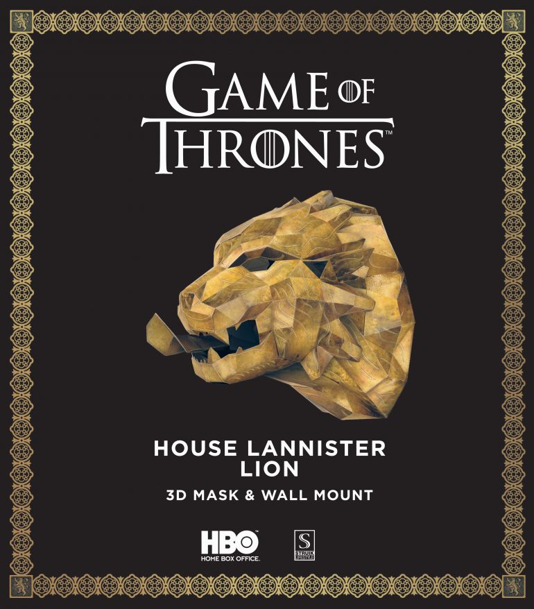 Game of Thrones - House Lannister Lion - 9 781432 309282