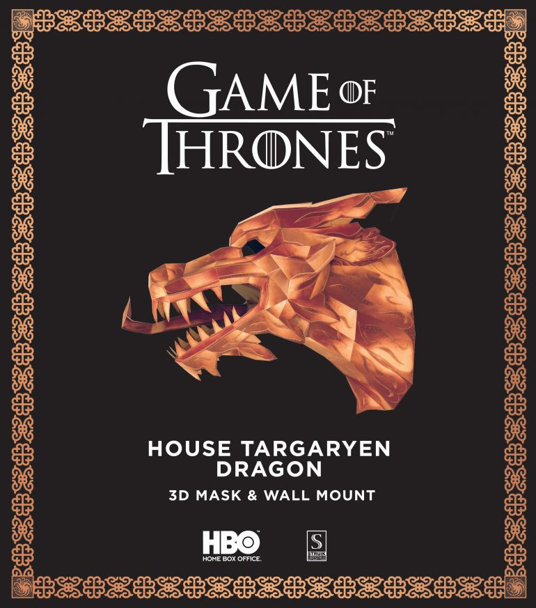 Game of Thrones - House Targaryen Dragon - 9781432309305