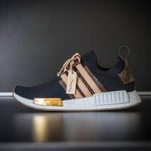 Check Out The Custom Louis Vuitton X adidas NMD_R1 For Craig David