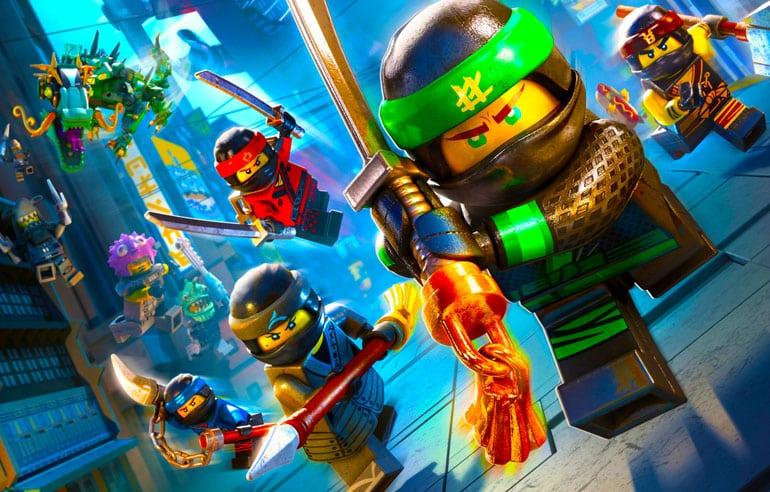 The LEGO Ninjago Movie Game - Everybody Was Spinjitsu Fighting