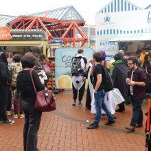 Food Court 01 MCM Comic Con Birmingham – Trump, T-Shirts And Tasha Yar Comic Books