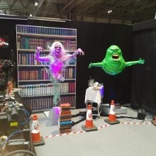 Ghostbusters set 01 MCM Comic Con Birmingham – Trump, T-Shirts And Tasha Yar Comic Books