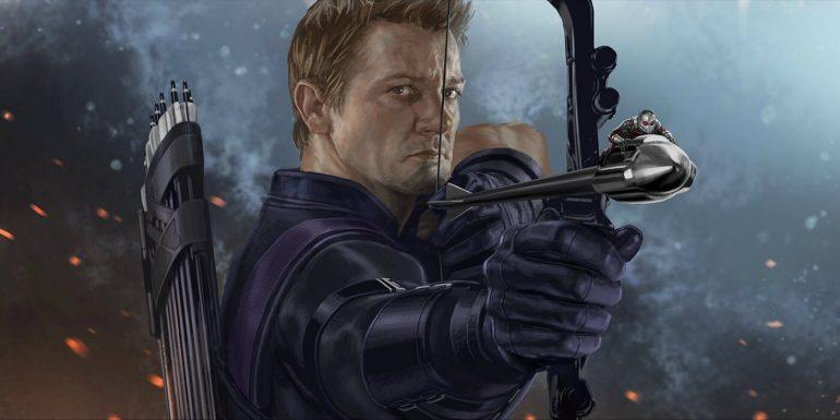 Hawkeye Avengers Infinity War Trailer