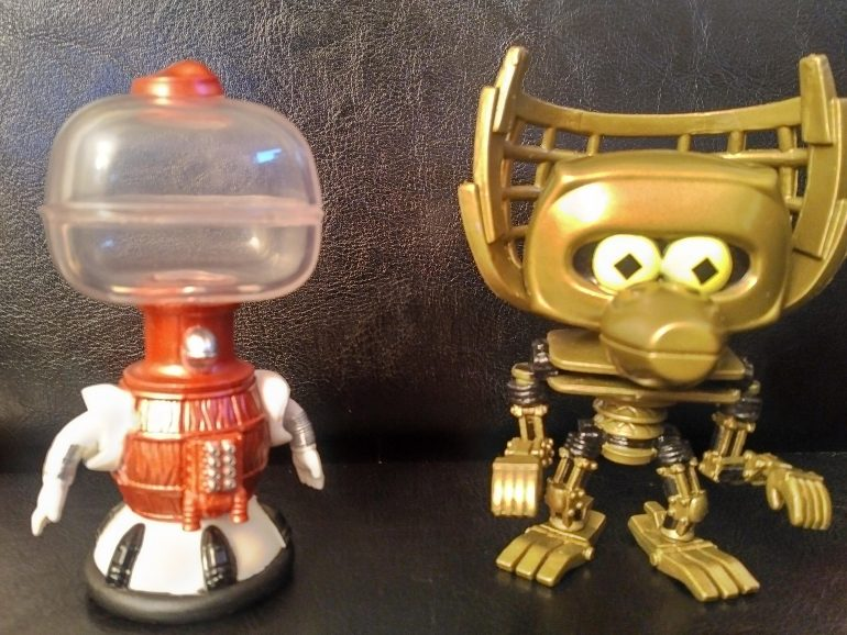 MST3K Tom Servo And Crow Funko POP! Review