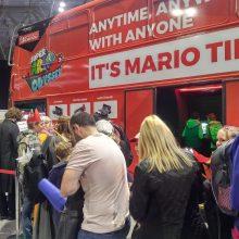 Mario Bus 2 01 MCM Comic Con Birmingham – Trump, T-Shirts And Tasha Yar Comic Books