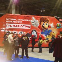 Mario Bus 01 MCM Comic Con Birmingham – Trump, T-Shirts And Tasha Yar Comic Books