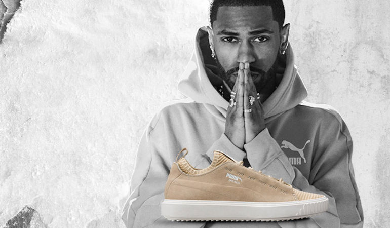 Big Sean Introduces An All-New Silhouette, Puma Breaker Knit Sunfade