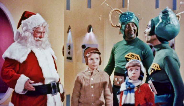 Santa Clause Conquers The Martians