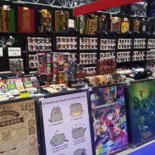 Stall 01 MCM Comic Con Birmingham – Trump, T-Shirts And Tasha Yar Comic Books