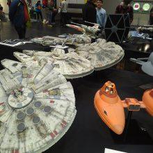 Star Wars Models 4 01 MCM Comic Con Birmingham – Trump, T-Shirts And Tasha Yar Comic Books