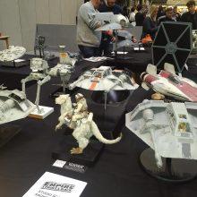 Star Wars models 2 01 MCM Comic Con Birmingham – Trump, T-Shirts And Tasha Yar Comic Books
