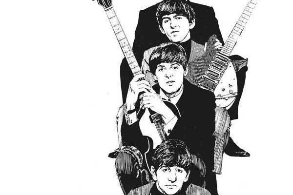 The Beatles Story Rebellion Comic Book