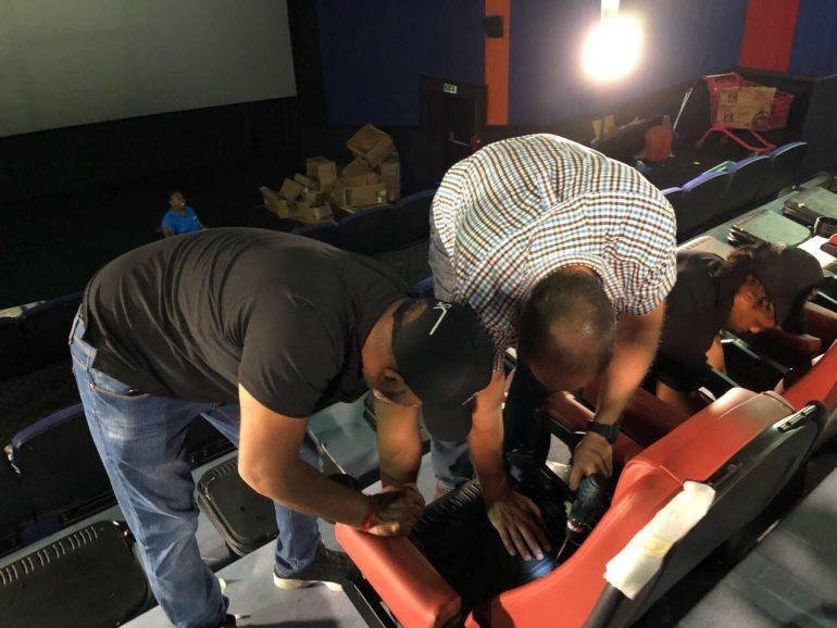 Ster-Kinekor installing D-Box seats