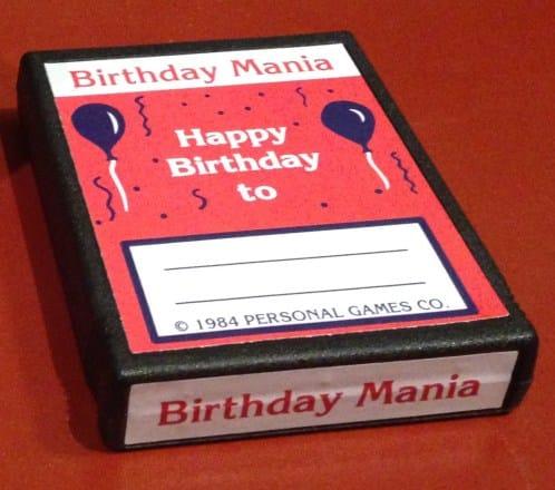 Birthday Mania – Atari 2600